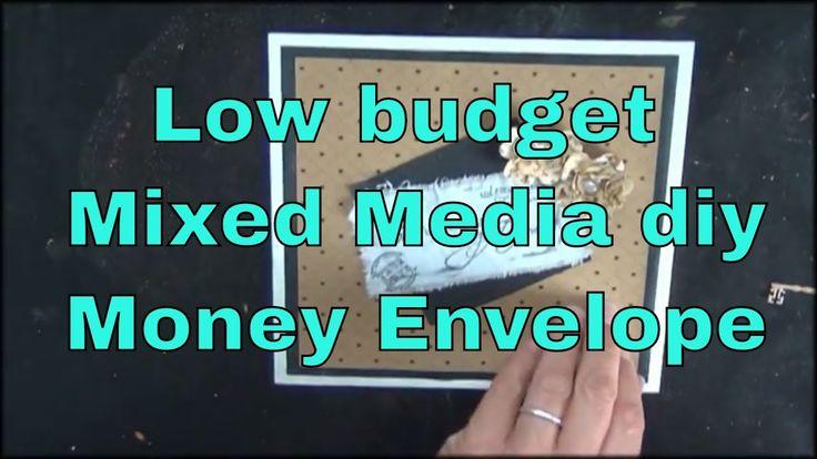 Decorated Wedding Gift money Enverlope