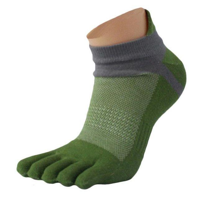JECKSION 1 Pair Men Five Finger Toe Socks 2016 Fashion Mesh Meias Clothes Socks #LYW