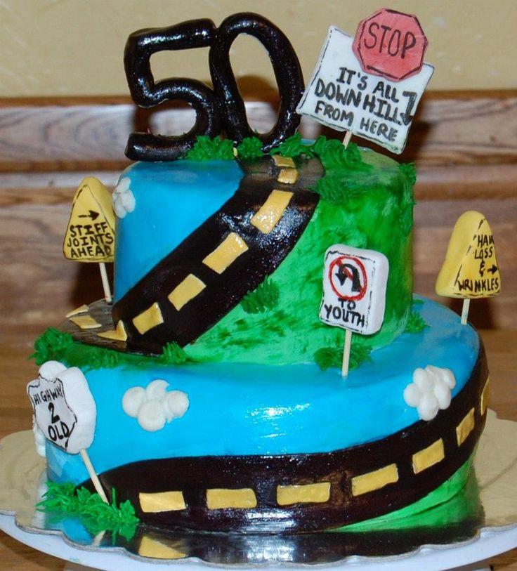 12 best birthday ideas images on Pinterest 50th birthday cakes