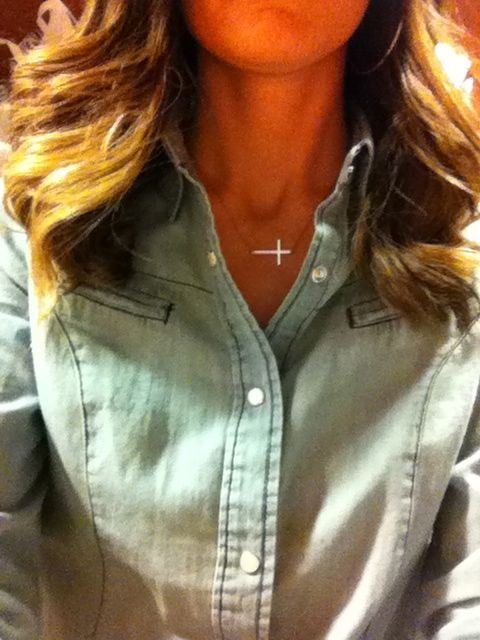 Lots of sideways cross necklaces still available in gold & silver! #cross necklace