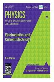 Physics for Joint Entrance Examination JEE (Advanced) Electrostatics and Current Electricity Paperback ? 1 Jan 2016
