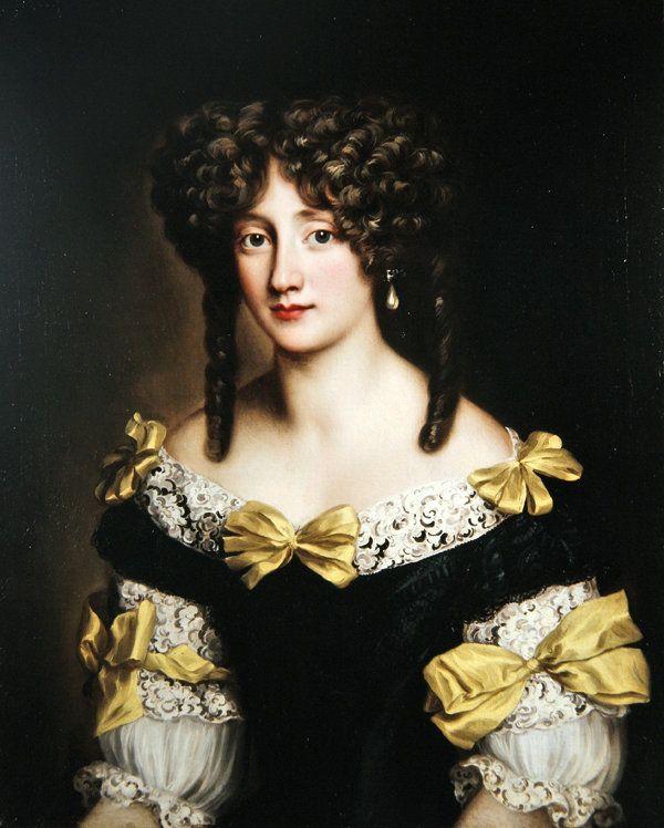 Jacob Ferdinand Voet (1639-1689) — Portrait  of Hortense Mancini (600×748)