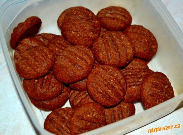 * domácí koka sušenky - dala jsem 2 žloutky