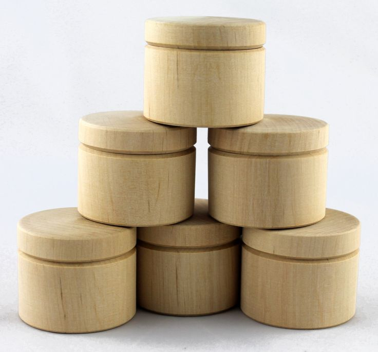 wooden boxes wholesale | Lot 6 Handmade Unfinished Small Wooden Boxes, Wholesale ...