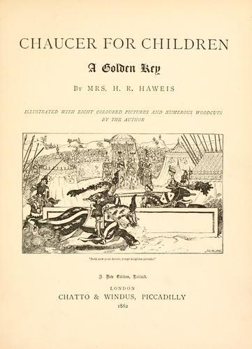 Chaucer for children by Geoffrey Chaucer