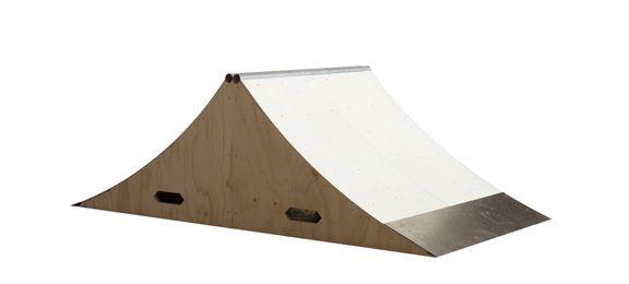 "OC Ramps Spine Skateboard Ramp Kit - 3 ft. x 2 ft. OC Ramps Manual Pad Skateboard Ramp - 24"" x 33"""