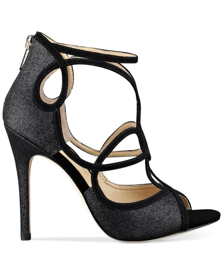 Swirling straps add major flair to your formal attire — Ivanka Trump Hatla  sandals