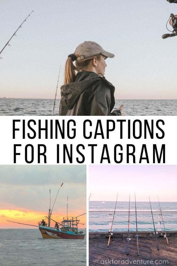 23 Short Fishing Captions For Instagram Fish Pictures Ask For Adventure Instagram Captions For Pictures Good Instagram Captions Instagram Captions