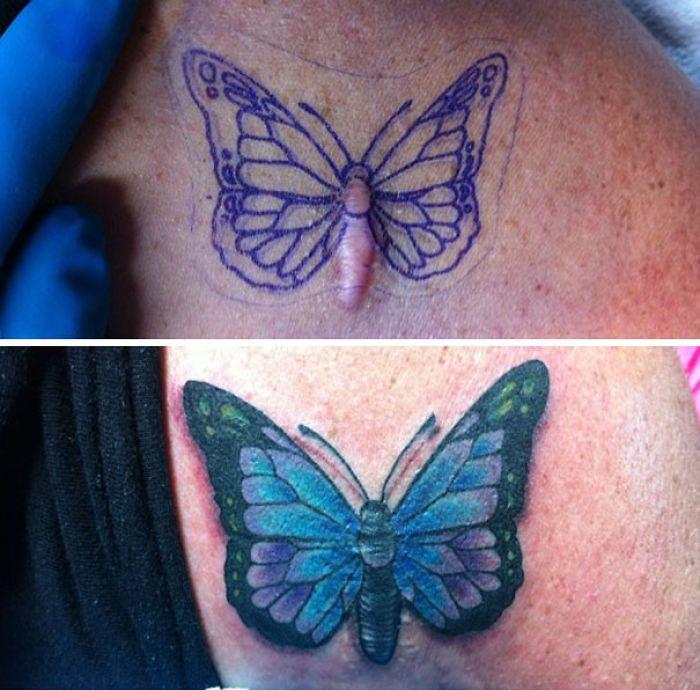 Best 25+ Scar Cover Tattoo Ideas On Pinterest