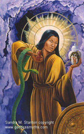 Amaterasu, goddess of the sun in Japanese mythology, was a beautiful and…