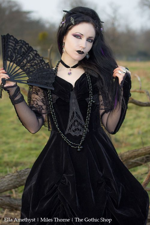 Model: Ella Amethyst Photo: Miles Thorne Dress by Punkrave from The Gothic Shop Jewellery: The Black Cat Jewellery Store Welcome to Gothic and Amazing |www.gothicandamazing.org