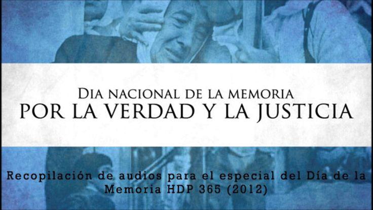 Especial Día de la Memoria (Archivo - 2012)