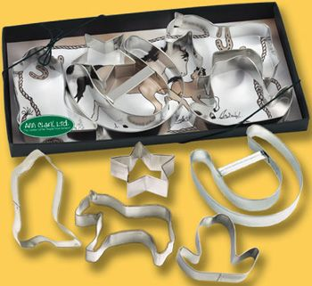 Horse Themed Cookie Cutter Set
