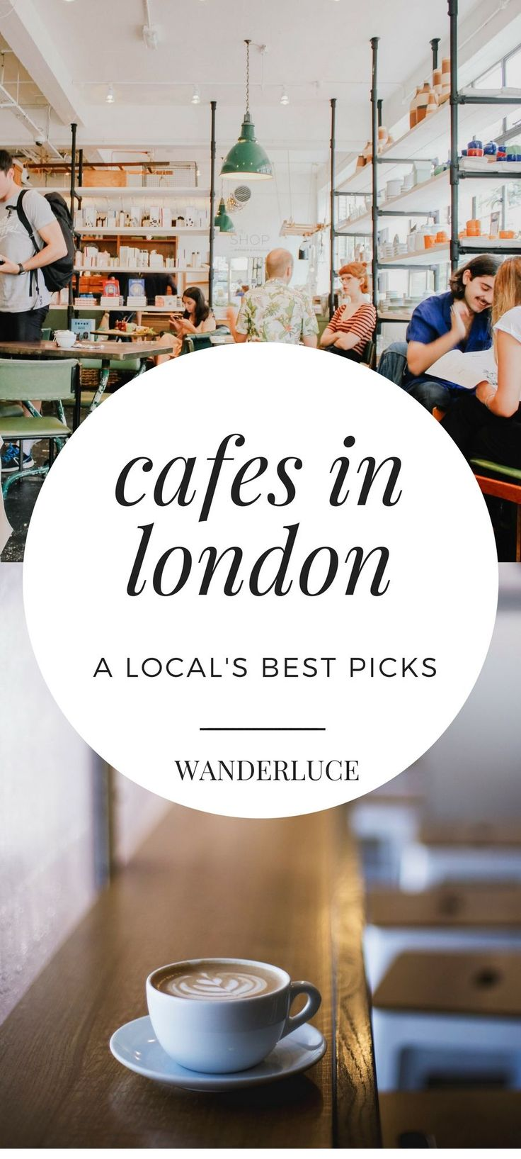 Check out these delicious cafes in London, England as picked by a local!