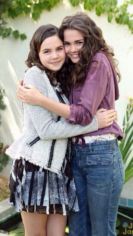 Bailee Madison / Maia Mitchell  They could be real sisters