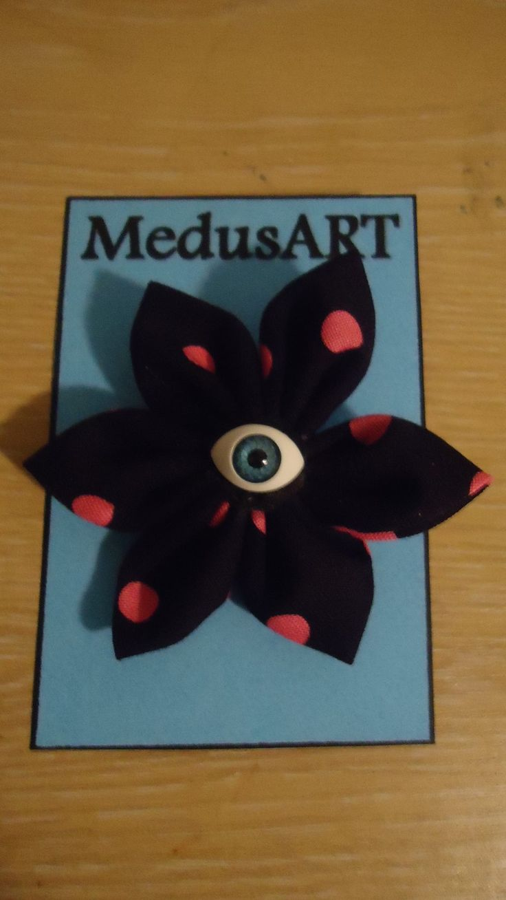 Handmade Pink Polka Dot Fabric Flower Brooch - $7.00. (Postage not included)  This is made to order. Please allow 1-2 days for me to make it up.  Due to pattern on fabric designs may vary slightly from the original.
