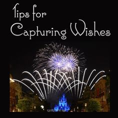 Focused on the Magic - Capturing Wishes in The Magic Kingdom ~ Tips and Tricks