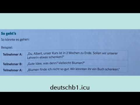 Gemeinsam Etwas Planen B1 Beispiel Youtube In 2020 Learn German Social Media Facebook Youtube Com