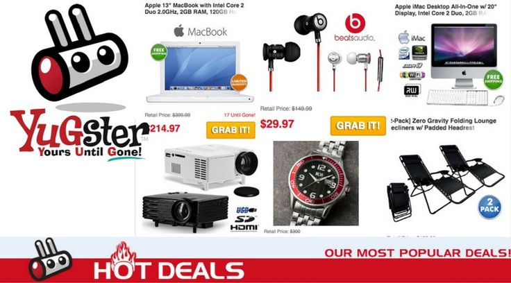 Yugster Hot Deals Sale: Up to 89% off + $1 off - http://supersavingsman.com/yugster-hot-deals-sale-89-off-1-off/