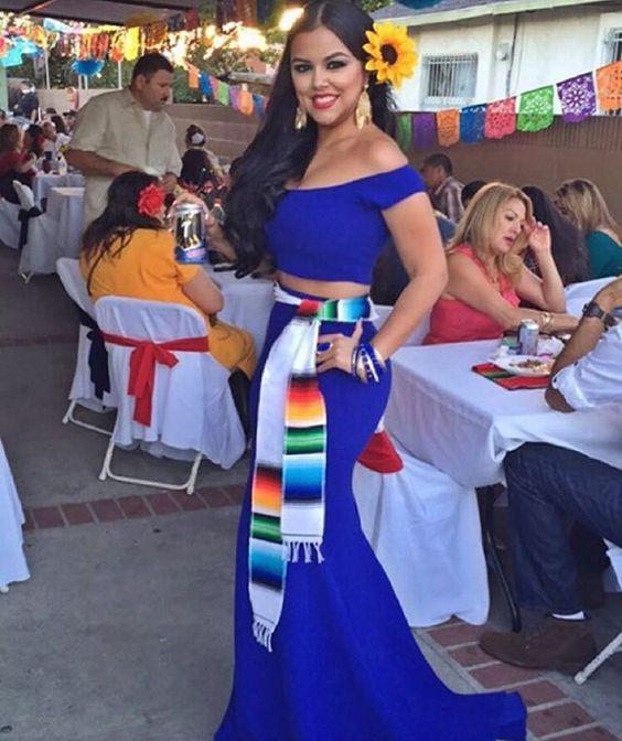 150aba6a7 Vestidos para fiestas patrias mexicanas, Ropa para fiestas patrias ...