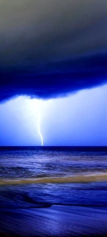 Blue Storm Lightening