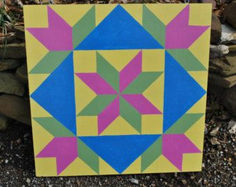 custom square for Nance  2' x 2' Barn quilt by stellassweetheart