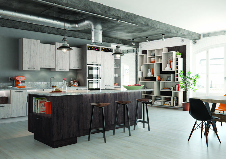 Thatcham Kitchens- Mereway Kitchens- Town & Country- Islington- Treviso Light and Treviso Dark