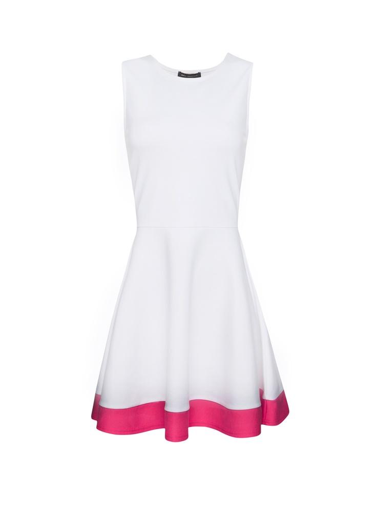 Strawberry dress by MANGO