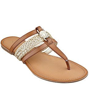 Tommy Hilfiger Women's Liz Thong Sandals - Shoes - Macy's