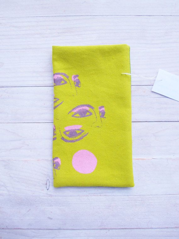 Mobile phone cell phone pouch pocket case soft cover by poppyshome