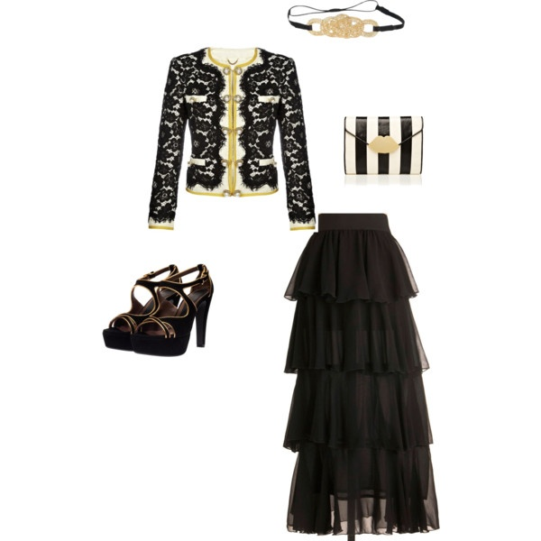 Classy, created by megandawnette on Polyvore