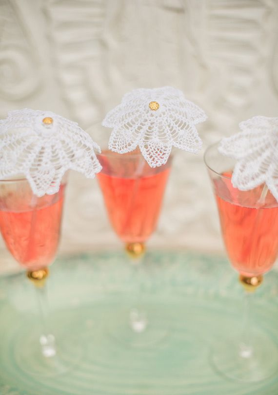 lace cocktail umbrellas? yes, please!Wedding Inspiration, Doilies Cocktails, Drinks Stirrers, Layer Cakes, Summer Parties, Diy Tutorials, Bridal Shower, Parties Ideas, Layered Cake