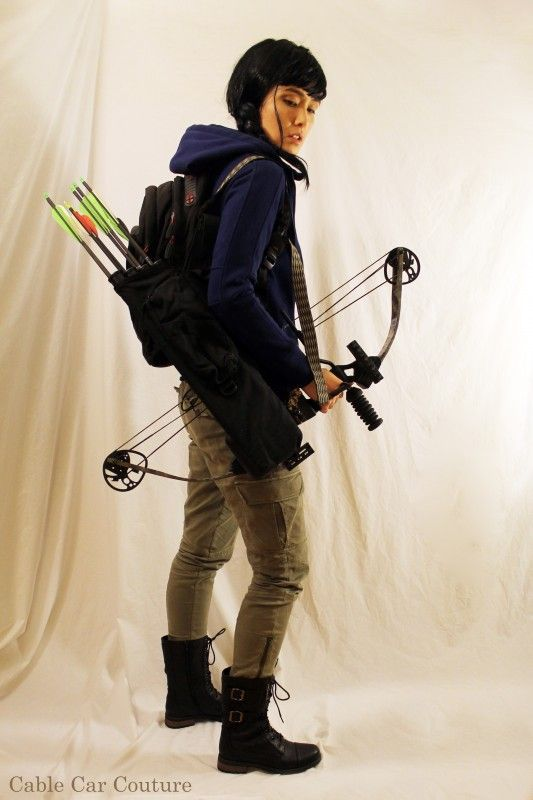 Halloween Costumes In Your Closet: Katniss Everdeen from The Hunger Games