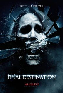 The Final Destination - directed by David R. Ellis.  This is part four of the series, which is more or less the same movie over and over again.  That said, there is an obvious, winking-at-the-audience self awareness in these movies that makes them at least a little entertaining.  I would never actively search one out to watch, but if it's on tv?  Meh.  Why not?
