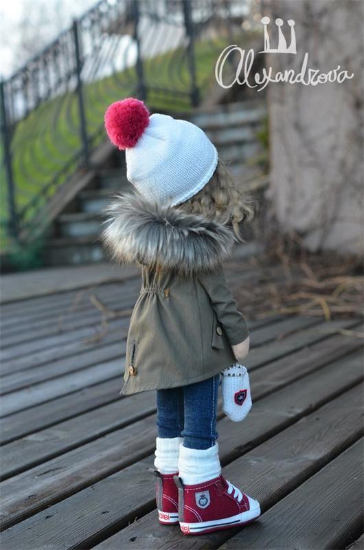 Авторская кукла Татьяны Александровой: LISA фото