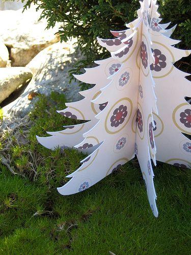 paper faces: En ilginç Yılbaşı Ağaçları!