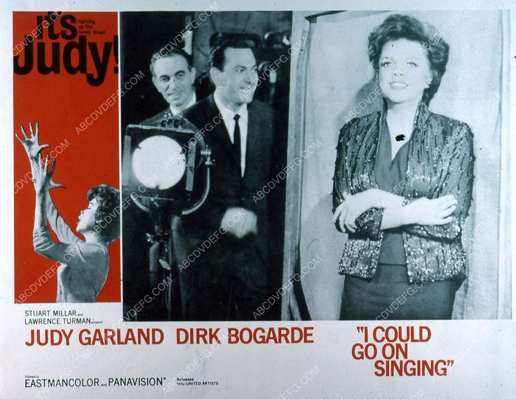 Judy Garland Dirk Bogarde film I Could GoOn Singing 35m-4425