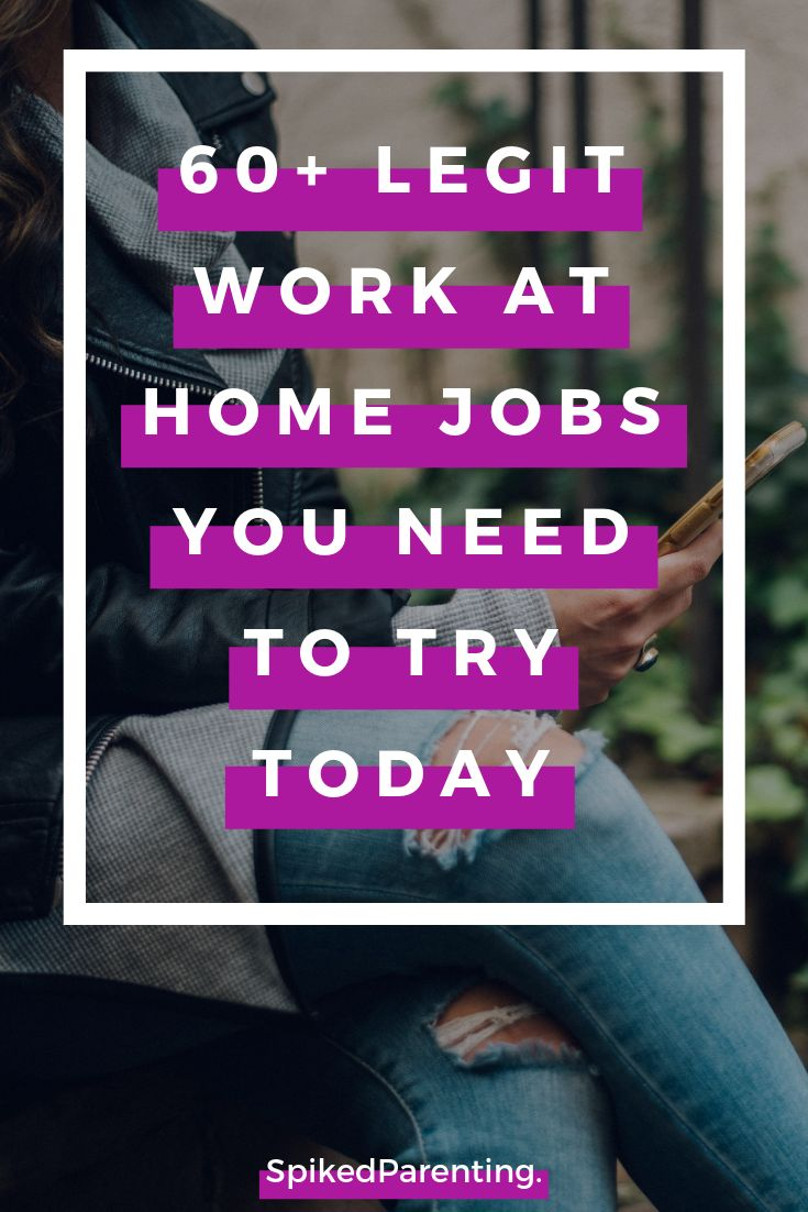 60+ Legit Work at Home Jobs That Pay Up to $10K a Month