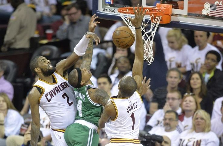 NBA playoff scores 2015: Kyrie Irving goes off in playoff debut and 3 things ... NBA  #NBA