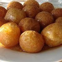 Loukoumades - yumm! had these today at the Marietta Greek Festival