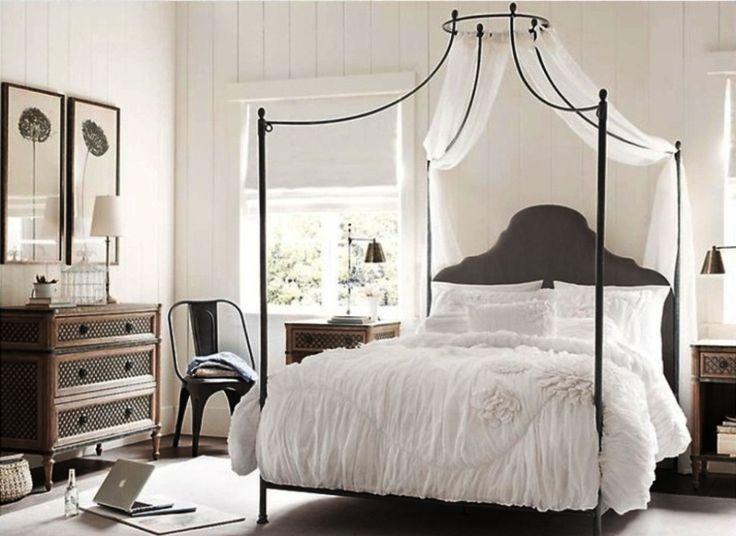 Προσθέστε ρομαντισμό στο υπνοδωμάτιό σας Φτιάχνοντας ουρανό για το κρεβάτι σας.
