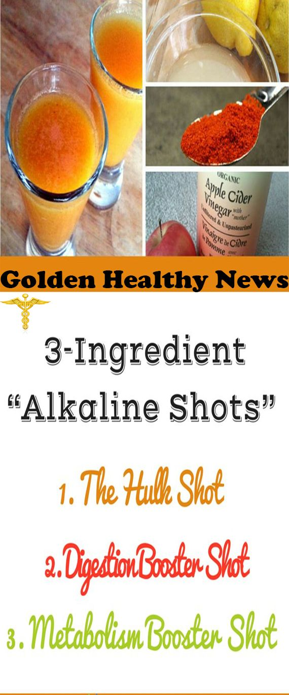 3-INGREDIENT HEALTH SHOTS TO ALKALIZE YOUR BODY LOSE WEIGHT AND ENERGIZE YOUR BODY