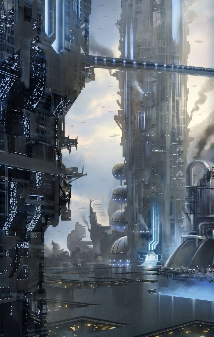 upper city by *SebastianWagner on deviantART via PinCG.com