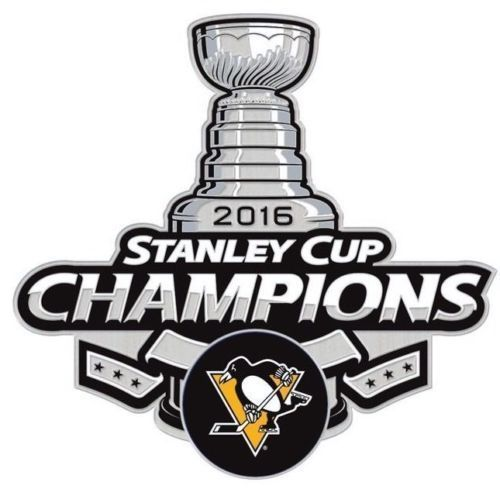 Pittsburgh Penguins Commemorative 2016 Stanley Cup Champions Collectible Pin NHL #WincraftCollection #PittsburghPenguins