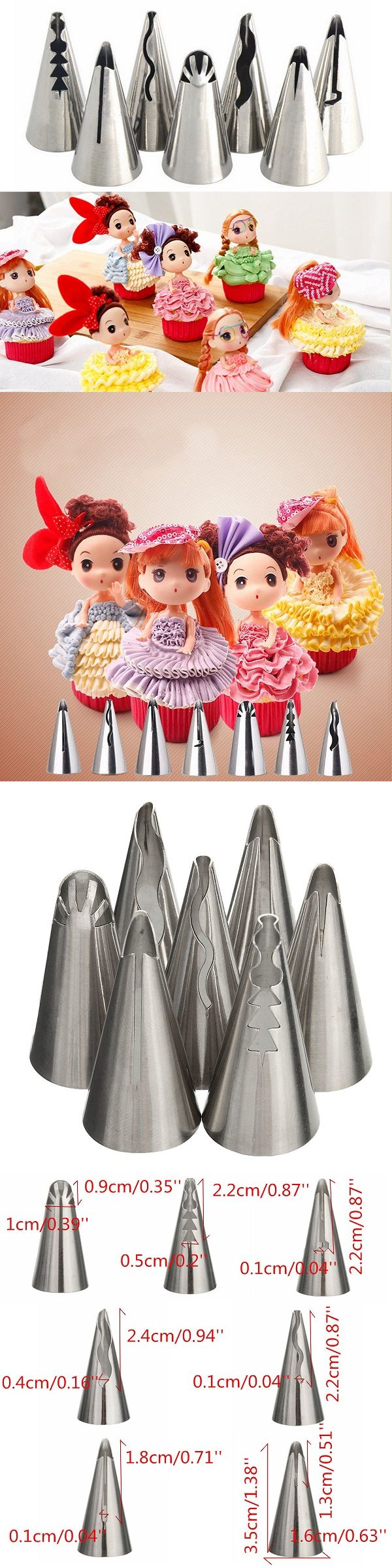 Best Cake Decorating Tools Ideas On Pinterest Icing Tips