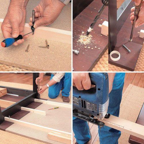 Comment fabriquer une rallonge de table amovible | BricoBistro