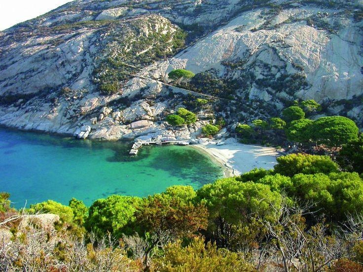 La più meridionale delle isole dell'Arcipelago Toscano, è tutelata al 100%, sia in mare che a terra.