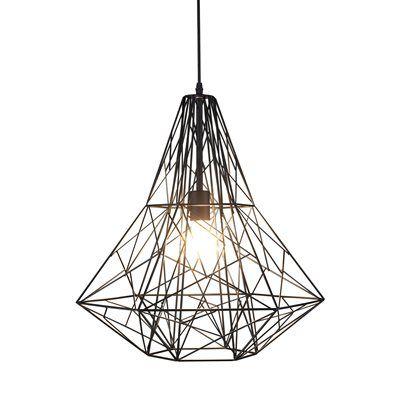 Bethel International YS499 Geometric 1-Light Pendant