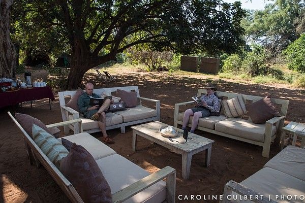 Time to relax back in camp after an exhilarating day out on the Pafuri Walking Trail #KrugerNationalPark