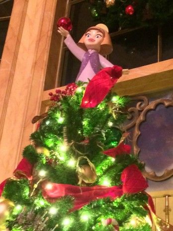 First Look: The holidays have arrived in #NewFantasyland at Magic Kingdom Park at @Colleen Egan Disney World